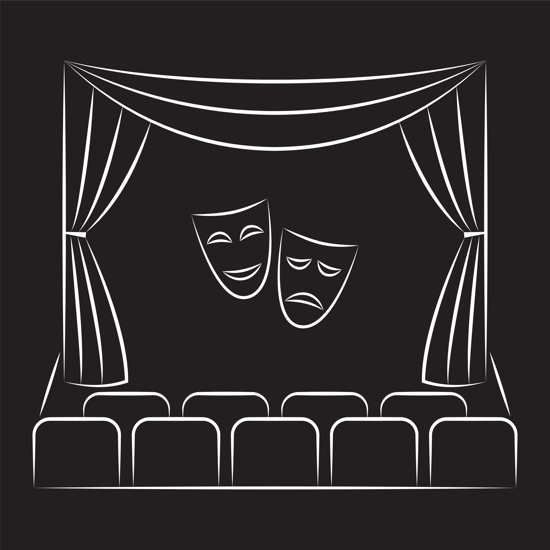Картинки театр маска занавес