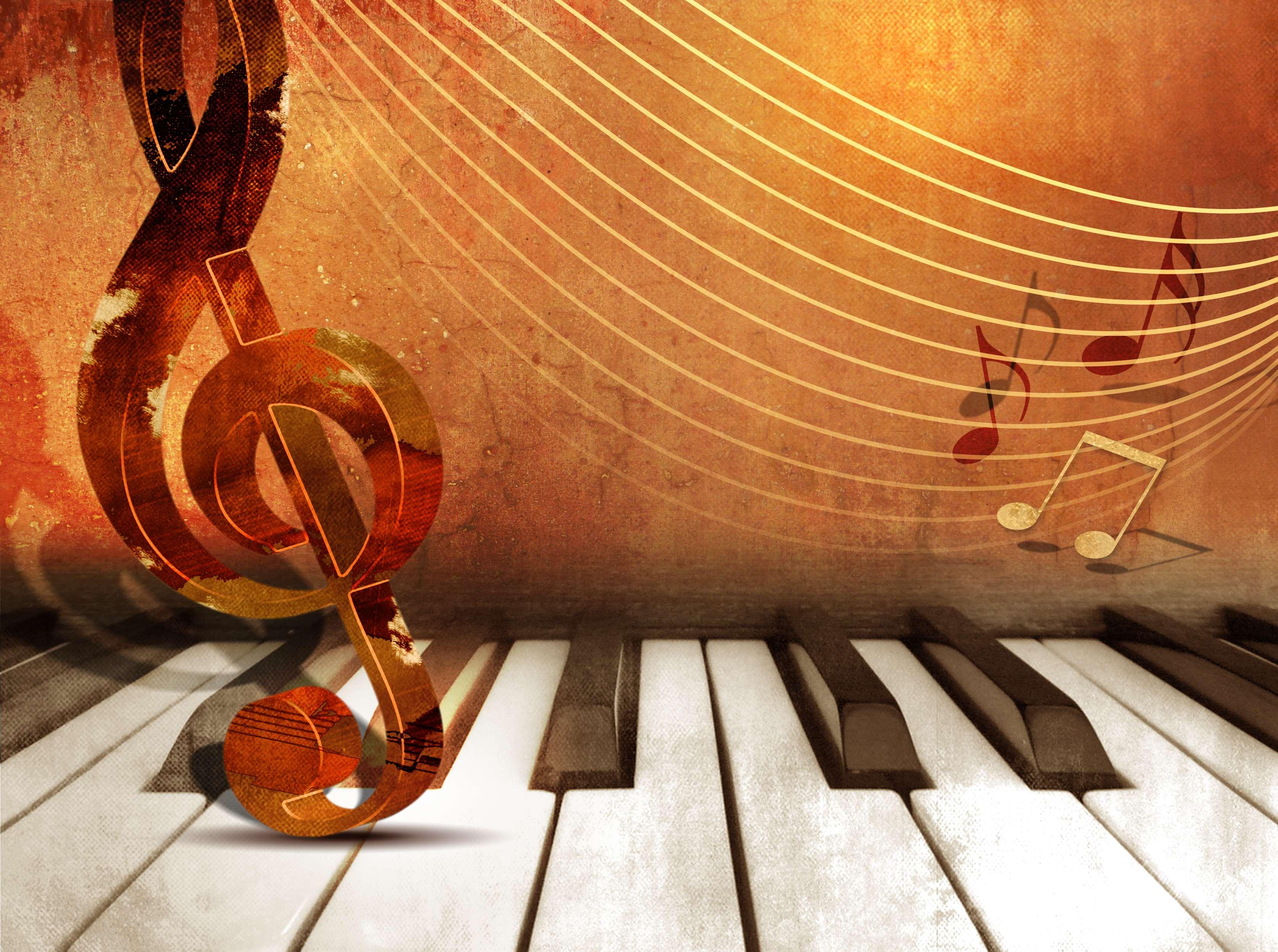 piano music background notes keys backgrounds concert arts fall band fine milwaukee bigstock quartet returns