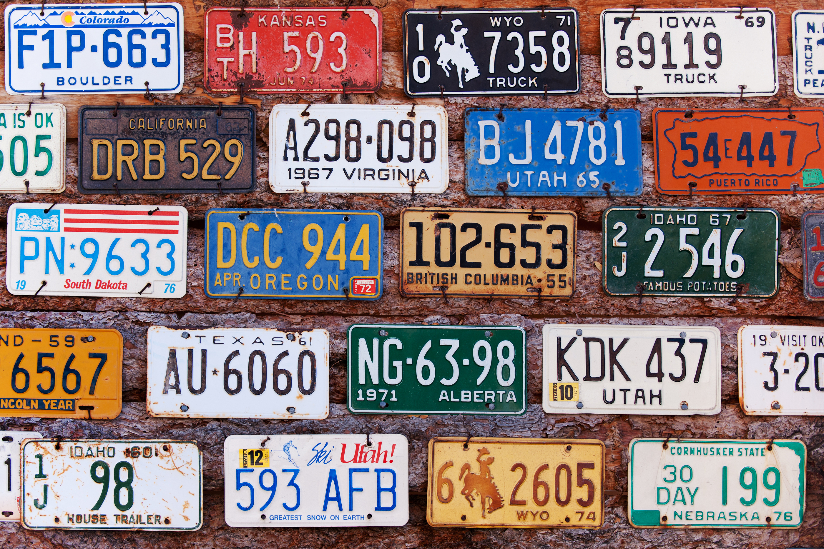 Wisconsin getting creative on license plate combinations - Wisconsin ...