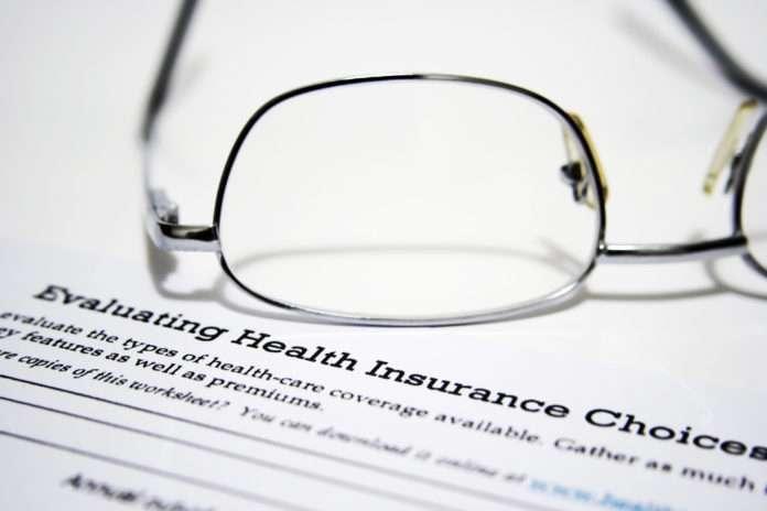 Health insurance choice form