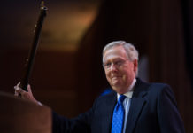 Mitch McConnell and Republican senators have drafted a health bill with deep cuts to Medicaid